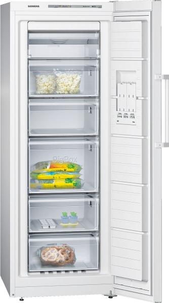 Siemens GS29NVW30 Stand-Gefrierschrank, noFrost Türen weiß IQ300