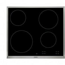 AEG HK624000XB 60 cm, Single Control, 4 elektronische Automatikkochstellen