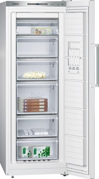 Siemens GS29NAW30 Stand-Gefrierschrank, noFrost Türen weiß IQ500