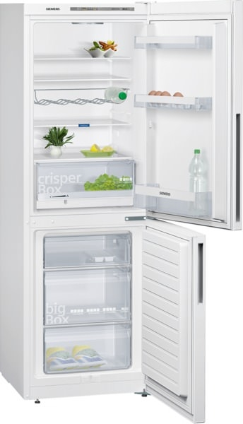 Siemens KG33VVW31 Kühl-Gefrier-Kombination Türen weiß IQ300