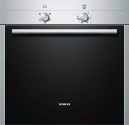 Siemens HB 10 AB 520 Basic-Einbaubackofen, Edelstahl