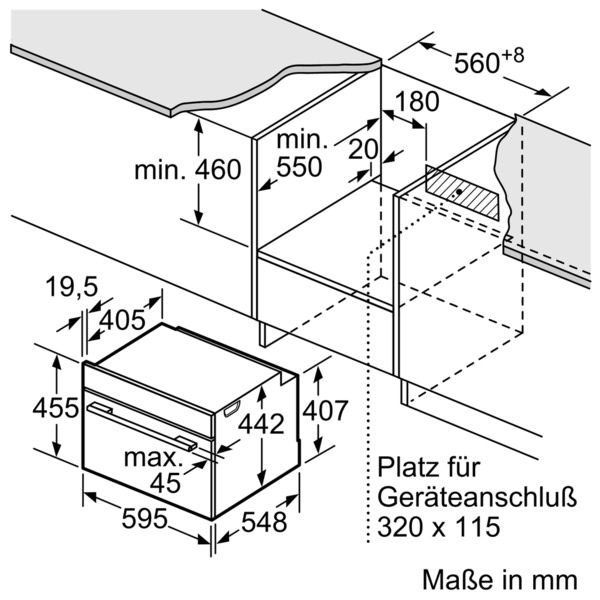Bosch CDG634BS1 Edelstahl