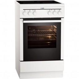AEG 40095VA-WN Energieeffizienzklasse A, Leichtreinigungstür, Heißluft mit Ringheizkörper, Pizzastuf