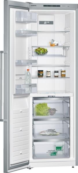 Siemens KS36FPI30 Kühlschrank VitaFresh Türen Edelstahl antiFingerPrint, Seitenwände silberfar