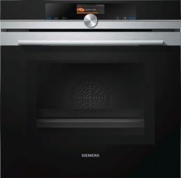 Siemens Backofen mit Mikrowelle HM676G0S1 Edelstahl