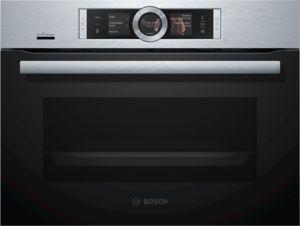 Bosch CSG656RS7, Einbau-Kompaktdampfbackofen