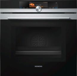 Siemens HN678G4S6 Edelstahl Mikrowellen-Backofen mit Dampfunterstützung