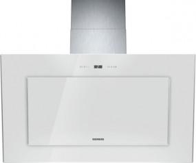 Siemens LC98KA271 Weiß Weiß mit Glasschirm 90 cm Wand-Esse