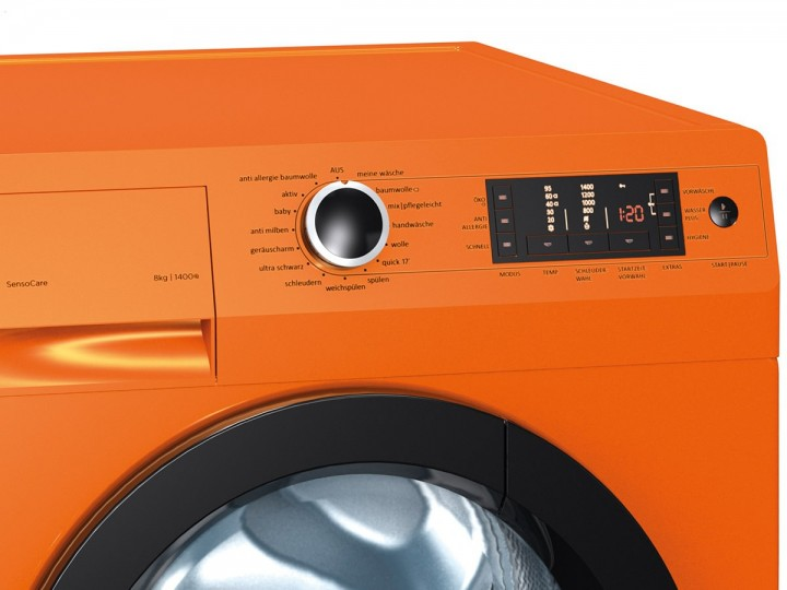 Gorenje w 8543 to waschmaschine 8 kg; orange gorenje frontlader