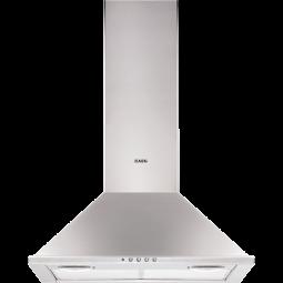 AEG X56155MK10 Kaminhaube, 60 cm, Drucktasten, Metall-Fettfilter, Halogenbeleuchtung