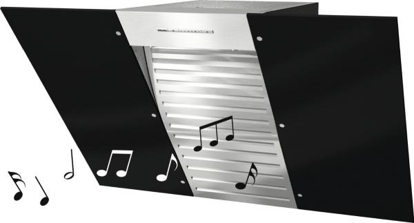 Miele DA 6096 W Black Wing Music