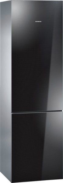 Siemens KG39FSB30 Kühl-Gefrier-Kombination, vitaFresh Glastüren schwarz IQ700