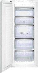 Bosch GIN25P60 Einbau-Gefrierschrank Flachscharnier, mit Softeinzug CoolProfessional