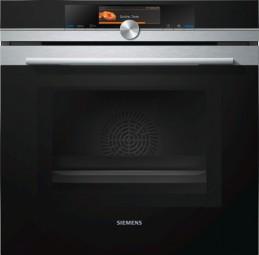 Siemens Backofen mit Mikrowelle HM678G4S1 Edelstahl