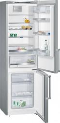 Siemens KG39EAL43 Kühl-Gefrier-Kombination Türen Edelstahl-Look, Seitenwände silberfarben I