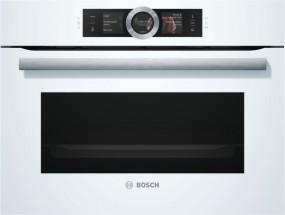 Bosch CSG656RW6 Polar Weiß Kompaktdampfbackofen