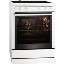 AEG 40006VS-WN Energieeffizienzklasse A, Heißluft mit Ringheizkörper, Pizzastufe, Leichtreinigungstü