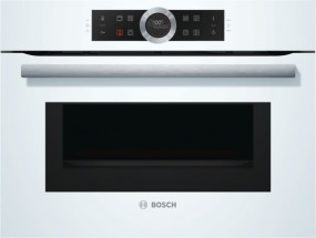 Bosch CMG633BW1 Polar Weiß Kompaktbackofen mit Mikrowelle