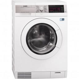 AEG L99484HWD ÖKOKOMBI PLUS Waschtrockner mit Wärmepumpentechnik, kein Wasserverbrauch beim Trocknen