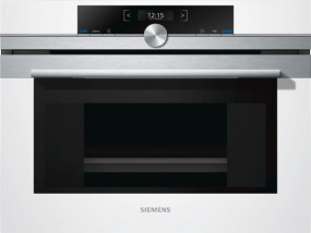 Siemens Kompaktdampfgarer CD634GBW1 weiß