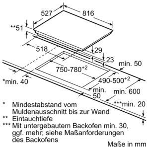 Bosch Piv 875 Dc1e Autarkes Inductions Kochfeld Bosch Autarke