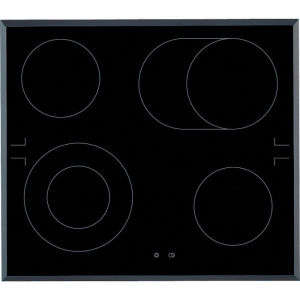 AEG HE604062FB 60 cm, 4 schnellaufglühende Kochzonen, 2 Kr, Bräter, Touch Control, Restwärmeanzeige