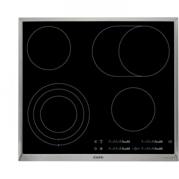 AEG HK654079XB 60 cm, Elektronikfeature, Dreikreis, Bräterzone, Direct-Control, Exclusiv-Schriftzug