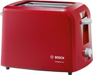 Bosch TAT3A014, Kompakt Toaster